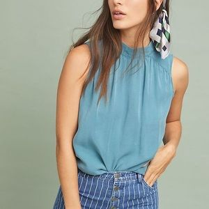 {Anthropologie} Cloth & Stone Liana Blouse Small